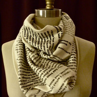 Jane Eyre Book Scarf