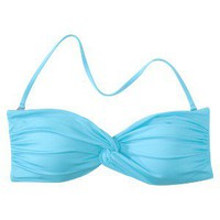 Mossimo® Women's Mix and Match Twist Bandeau Swim Top - Pool