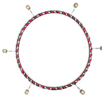 Custom Fire Hoop - $149.99 : Fire Toys, buy fire poi, fire fans, fire props, fire swords, hoops, staff, wick
