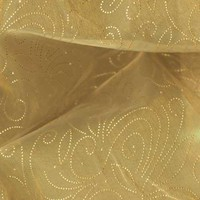 110'' Sheer Organza Constellation Golden - Discount Designer Fabric -  Fabric.com