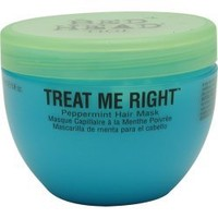TIGI Bed Head Treat Me Right Peppermint Hair Mask, 8 Ounce