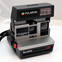 Polaroid Land Camera Sun 600 Light Management System LMS