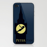 Peter Pan iPhone & iPod Skin by Citron Vert | Society6