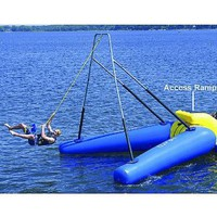 Amazon.com: Rave Access Ramp (65 X 47 X 38-Inch, Yellow/Blue): Sports &amp; Outdoors