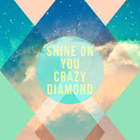 Inspirational Quote, Typography Art, Shine on You Crazy Diamond Print