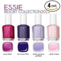 Essie Resort 2012 Collection Whole Pack (All 4 Colors)