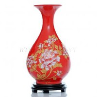 Small Red Flower Vase [UF-PV049] - $46.00 : Buy Unique Craft Gifts From Best Online Shop, Ufingo