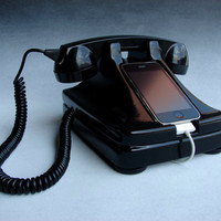 iRetrofone   Docking for iPhone by iRetrofone on Etsy