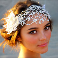 Juliet Cap Bridal Head Dress