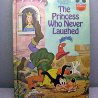1974 The Princess Who Never Laughed Vintage Disney by VintageWoods