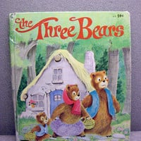 The Three Bears Vintage Childrens Book by VintageWoods on Etsy
