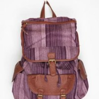 UrbanOutfitters.com > Ecote Ticker-Stripe Backpack