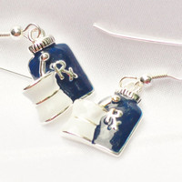 Rx charm earrings