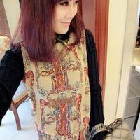 Special Knitted long Sleeve Women Chiffon Dress pink&amp;black free shipping