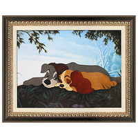 Disney Framed Limited-Edition ''My Sweet Lady'' Lady and the Tramp Giclée | Disney Store