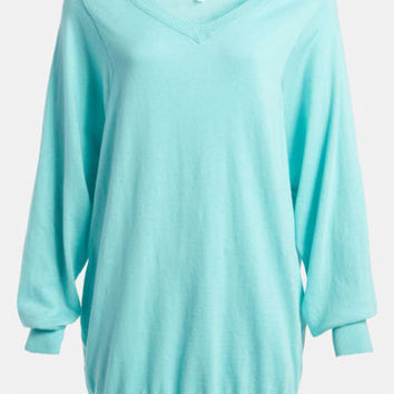 Leith Dolman Sleeve Oversized Pullover | Nordstrom