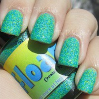 Floam nail polish Nail-Venturous matte glitter