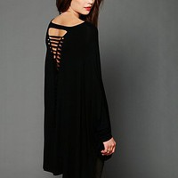 Free People Axel Caplet Boxy Long Sleeve Tee