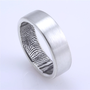 THE Original Custom Fingerprint Wedding Band in by fabuluster