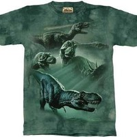 The Mountain Dinosaur Collage T-Shirt