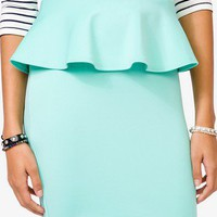 Peplum Pencil Skirt | FOREVER 21 - 2044415937