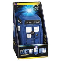Doctor Who Medium Talking TARDIS Light Up Plush - Underground Toys - Doctor Who - Plush at Entertainment Earth