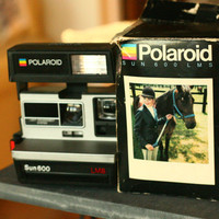10 OFF SALE Vintage Polaroid Camera Wedding by vintageatmosphere