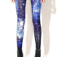 Bright Starry Tights from Tights for All