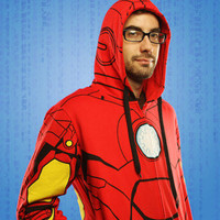 ThinkGeek :: Iron Man Costume Hoodie