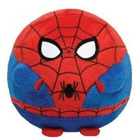Ty Beanie Ballz Spiderman Plush - Medium