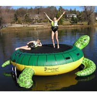 Amazon.com: Island Hopper Turtle Hop 11 Foot Bounce Platform 2012: Sports &amp; Outdoors
