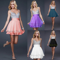 Bridesmaid Cocktail Birthday Homecoming Graduation Sweet 16 Prom Party Dress
