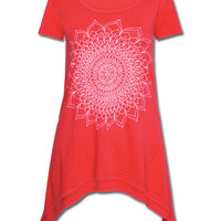A Thousand Petals Ebb & Flow Top: Soul-Flower Online Store