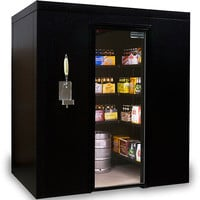Brew Cave Walk-In Beer Cooler & Kegerator - Larger Images