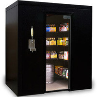 Brew Cave Walk-In Beer Cooler & Kegerator