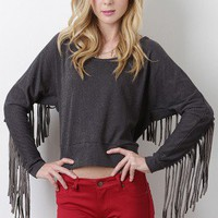 Fringe Passion Top