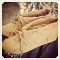 Light Brown Moccasins
