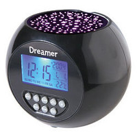 Dreamer Starlight Projector Clock - FindGift.com