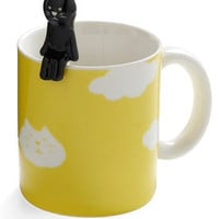Height of the Morning Mug in Cat | Mod Retro Vintage Kitchen | ModCloth.com
