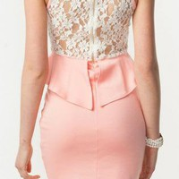 Peach Delight Dress