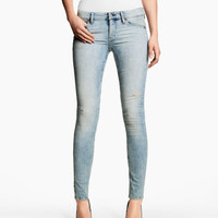 H&M - Skinny Low Jeans - Light denim blue - Ladies
