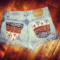 High Waisted Shorts FOLLOW ME @abbazaba
