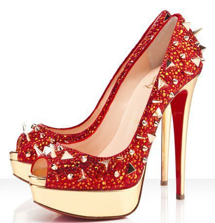 Christian Louboutin Very Mix 150mm Red Pumps - $189