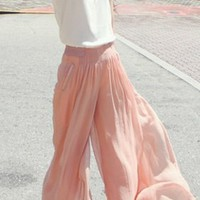 Chiffon's Dockers Wide Leg Gauze Pants