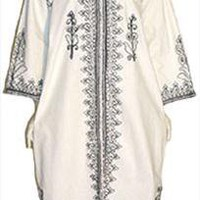 Vintage Clothing 70s Hippie Caftan Dress