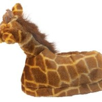 Amazon.com: Happy Feet - Giraffe - Animal Slippers: Shoes