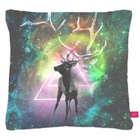 Street Market — Ohh Deer - Elk Cushion by Drew Turner