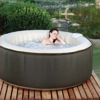 Amazon.com: Therapurespa EST5868  4-Person Inflatable Portable Hot Tub with Storage Bag: Patio, Lawn & Garden