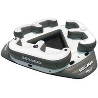 Sea-Doo 6 Person Inflatable Aqua Lounge with MP3 System