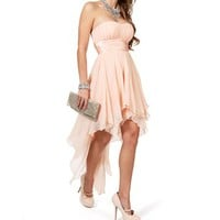 Tierra-Pink Blush Prom Dresses